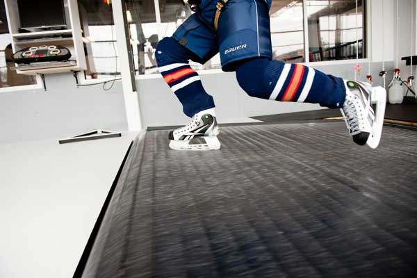 skating exercise machine